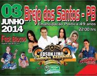 Prefeitura anuncia Programação do Aniversário da Emancipação Política de Brejo dos Santos