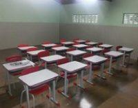 Revitalização e pintura das escolas municipais.
