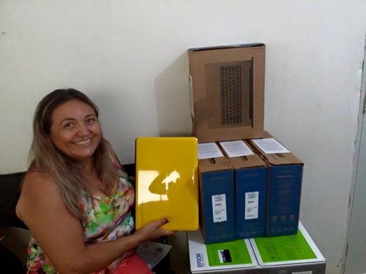 Secretária de Educação Deusani Pereira