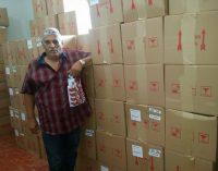 Prefeitura recebe Caminhão contendo Kit de Higiene Bucal para População