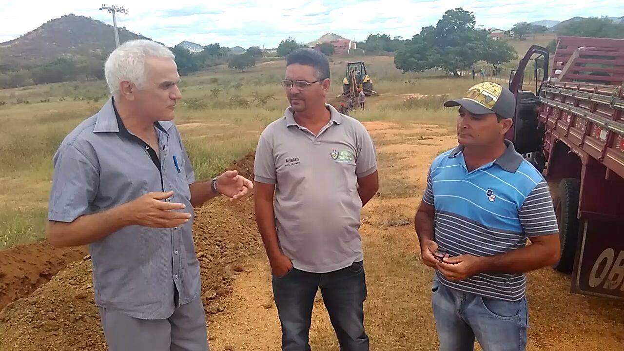 Brejinho e Sossego recebem investimento em abastecimento de água.