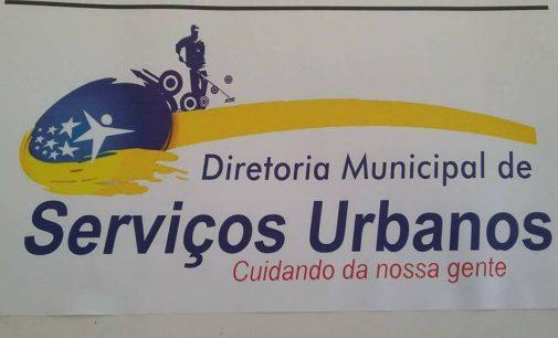 Secretario municipal de infraestrutura Márcio Pereira realiza várias ações mantendo a cidade limpa.