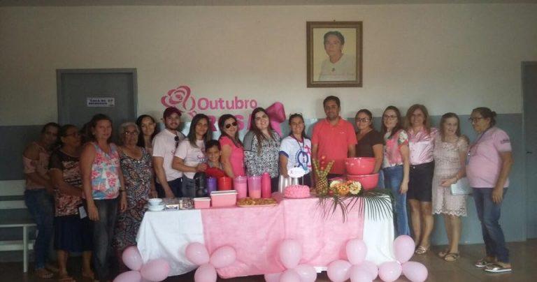 Secretária de saúde de Brejo dos Santos-PB realiza abertura do Outubro Rosa