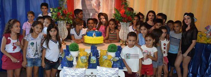 Festa em comemoração ao Dia das Crianças do Serviço de Convivência e Fortalecimento de Vínculo em Brejo dos Santos-PB