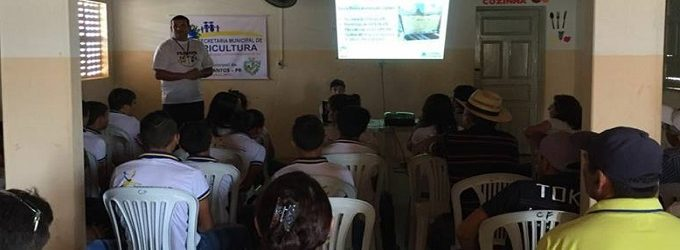 Realizada com bastante êxito a Palestra sobre APICULTURA em Brejo dos Santos-PB