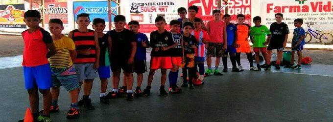 Escolinha de futsal do município de Brejo dos santos