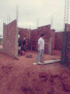 Read more about the article O jovem Secretário de Infraestrutura visita obra em andamento do Centro de Cultura