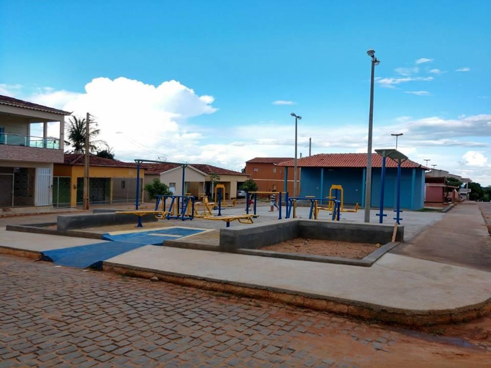 Academia da saúde, bairro alto do Cruzeiro Que venha as próximas