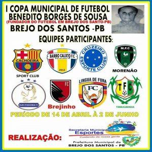 Read more about the article COPA MUNICIPAL DE FUTEBOL DE BREJO DOS SANTOS-PB – TABELA DE JOGOS
