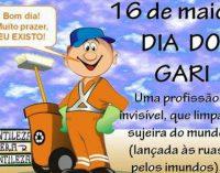 PARABÉNS A TODOS OS GARIS PELO SEU DIA 16 DE MAIO