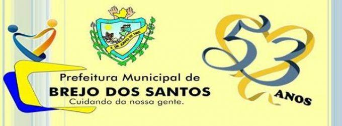 FESTA DE EMANCIPAÇÃO POLITICA DE BREJO DOS SANTOS-PB – 53 ANOS