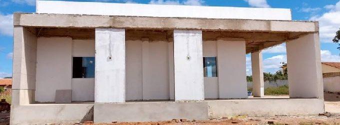 Obra em andamento – Centro de Cultura de Brejo dos Santos-PB