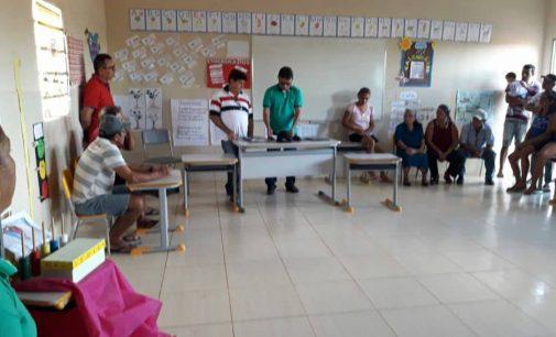 Reunião Ordinária da Associação Comunitária do Sítio Brejinho