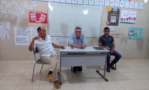 Dr. Lauri Ferreira e o chefe de gabinete Dr. Júnior participaram de reunião comunitária do sítio Brejinho