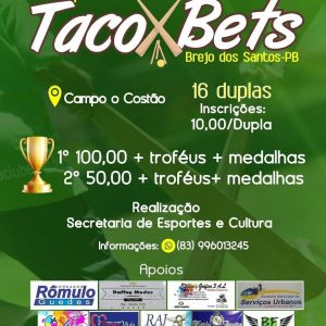Read more about the article TORNEIO DE TACO BETS