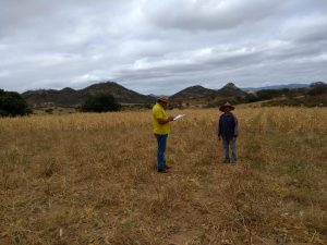 A Prefeitura municipal de Brejo dos Santos-PB realiza visitas aos produtores das comunidades rurais