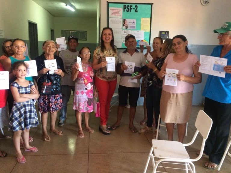 Realizado com sucesso mais um Encontro de fumantes em nosso município(BREJO DOS SANTOS-PB)