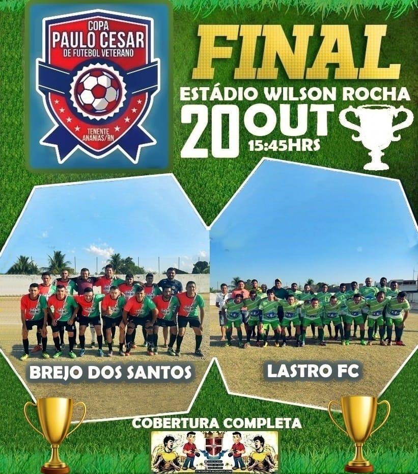 Futebol de campo de Brejo dos Santos-PB está em mais uma final