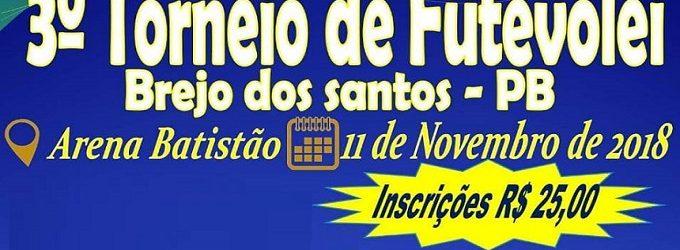 3º Torneio de Futevôlei de Brejo dos Santos-PB