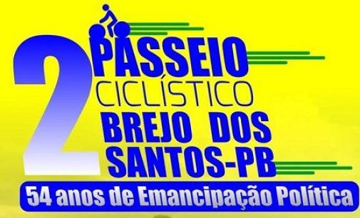 Segundo passeio ciclístico de Brejo dos Santos-PB