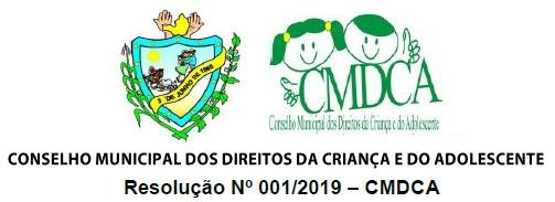 RESOLUÇÃO 001/2019 – CMDA