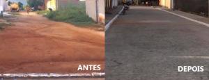 Read more about the article Trecho concluído da rua Cecília Jovelina