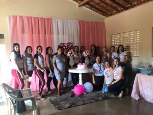 """Read more about the article Reunião com o Grupo de Gestantes """"Gravidez Arte da Vida"""" abordando o Tema da Campanha Outubro Rosa"""