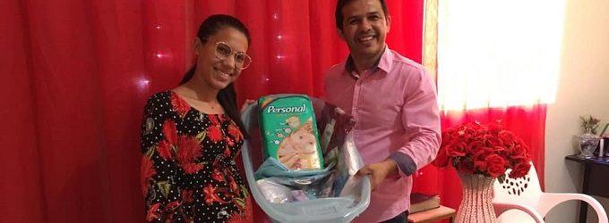"""Secretaria de Assistência Social juntamente com o CRAS realizou uma reunião com o Grupo de Gestantes 'Gravidez Arte da Vida """""""