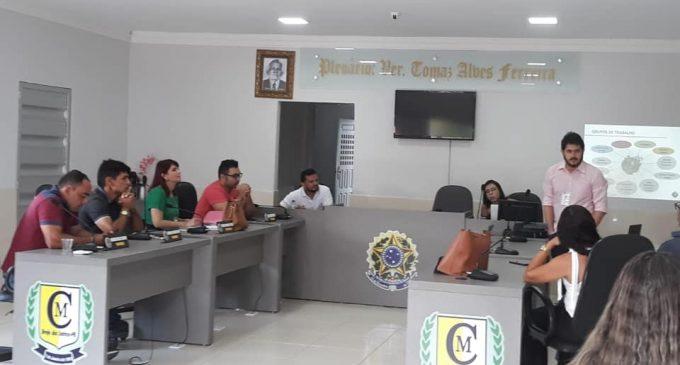 Em parceria com a UFCG e FUNASA iniciamos a criação do plano de saneamento básico do município de Brejo dos Santos
