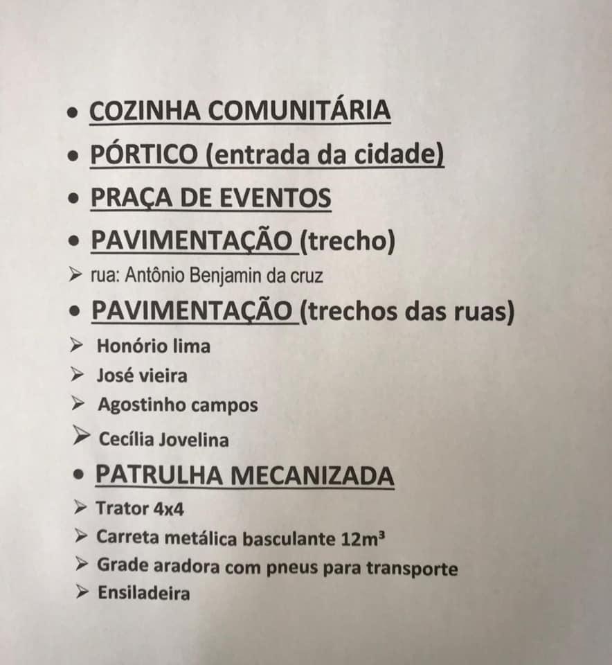 SEINFRA BREJO DOS SANTOS-PB O trabalho não para!