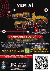 Read more about the article Vem ai… 5º Louva Cristo