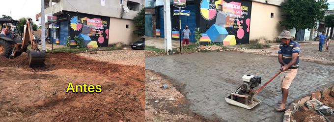 SEINFRA BREJO DOS SANTOS-PB – O TRABALHO NÃO PARA