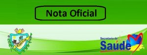 Read more about the article Nota Oficial.
