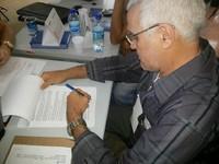 Read more about the article O Prefeito Dr. Luiz Vieira assina contrato com a Caixa Econômica Federal