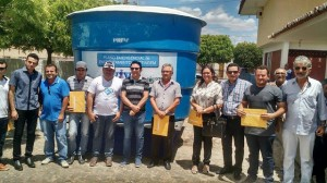 Read more about the article Prefeitura Municipal consegue junto a Cagepa 05 depósitos de àgua para beneficiar a população