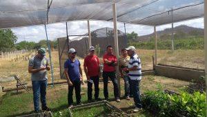 Jovens secretários da Prefeitura Municipal de Brejo dos Santos-PB, demonstrando competência e eficiência.