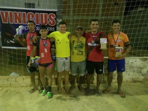 Secretaria Municipal de Esportes de BREJO DOS SANTOS realizou um emocionante torneio de futevôlei