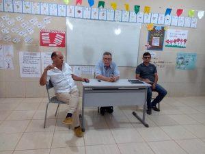 Read more about the article Dr. Lauri Ferreira e o chefe de gabinete Dr. Júnior participaram de reunião comunitária do sítio Brejinho