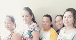 Reunião com as gestantes do município de Brejo dos Santos-PB