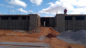 Read more about the article Visita a obra em construção da UBS no bairro Alto do cruzeiro