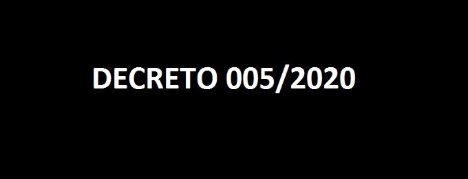 DECLARA SITUAÇÃO DE EMERGÊNCIA NO MUNICÍPIO DE BREJO DOS SANTOS