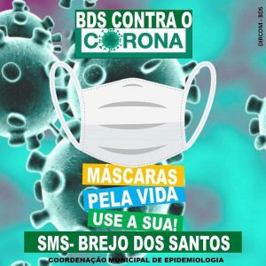 Read more about the article BREJO DOS SANTOS-PB CONTRA O CORONA VÍRUS