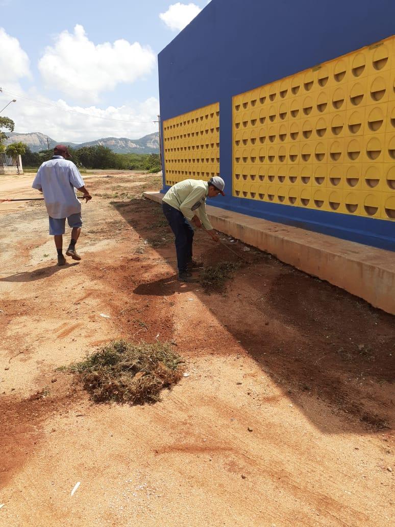Diretoria de serviços urbanos intensifica ações em Brejo dos Santos-PB