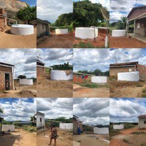 Read more about the article parceria entre Prefeitura de Brejo dos Santos e a FUNASA, construiu de 50 cisternas de abastecimento de água.